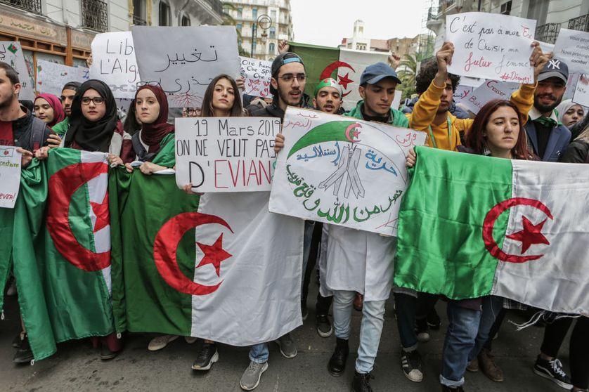 Manifestation à Alger, le 19 mars 2019