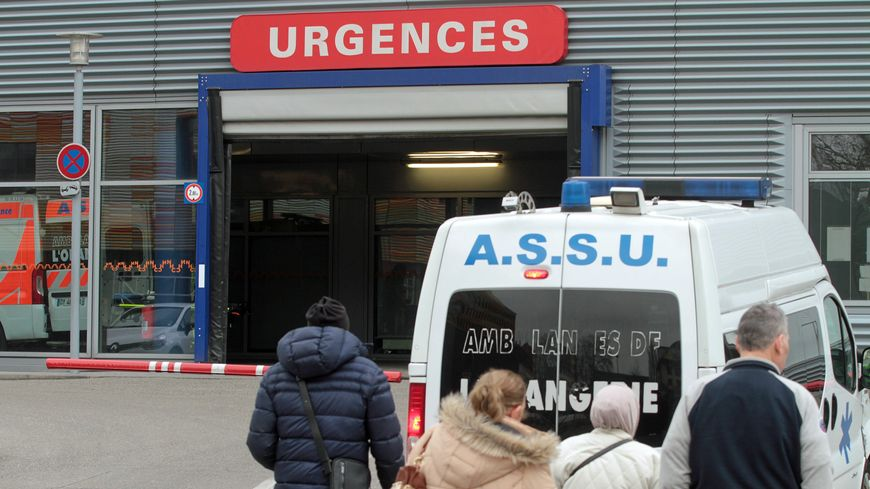 Le service des urgences à Strasbourg.