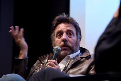 Mariano Llinás, réalisateur argentin, lors du festival du film de NY (2018)