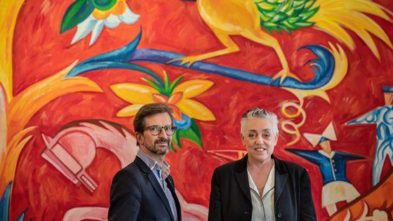 Thomas Lauriot dit Prevost et Ruth Mackenzie, duo à la tête du théâtre du Châtelet