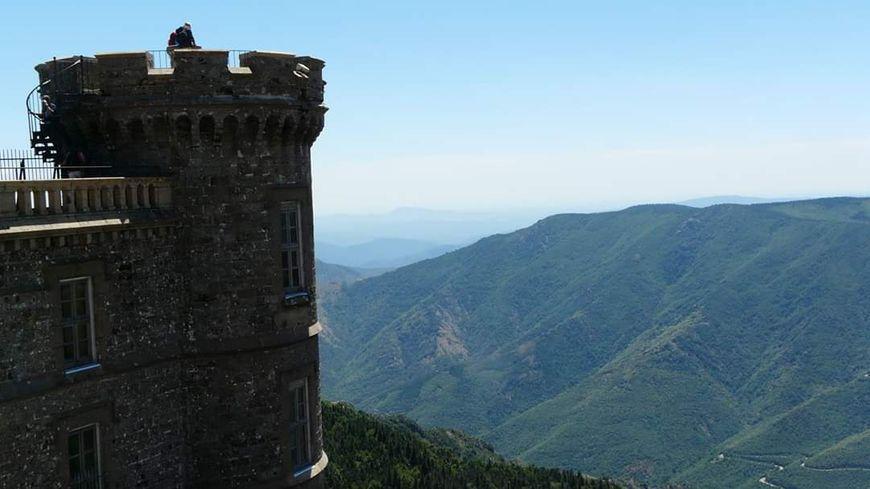 Panorama depuis le mont Aigoual