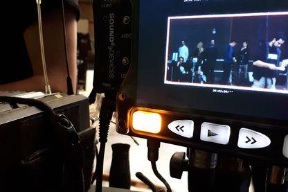 Sur le tournage de la Vérité de Kore Eda
