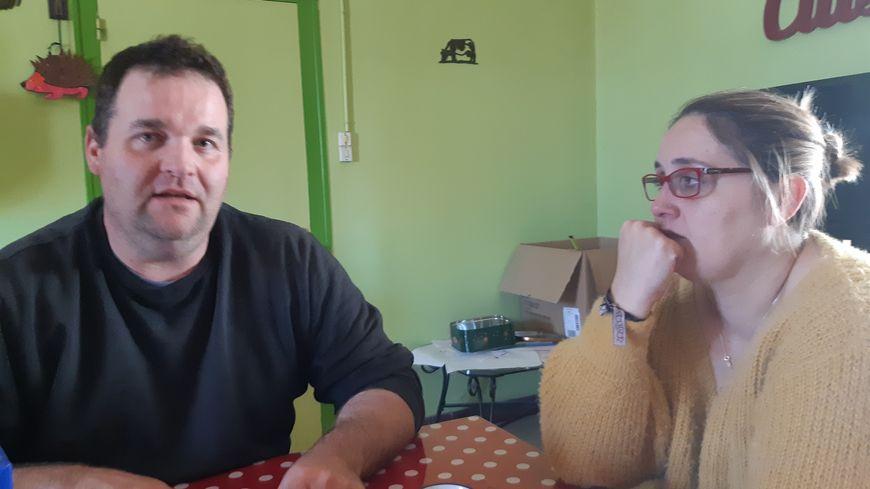 Guillaume et Aurore Fumoleau encore surpris de l'élan de solidarité qui s'est formé autour d'eux