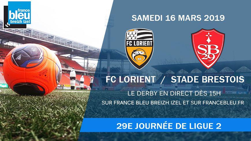 Vivez le derby en direct sur France Bleu Breizh Izel
