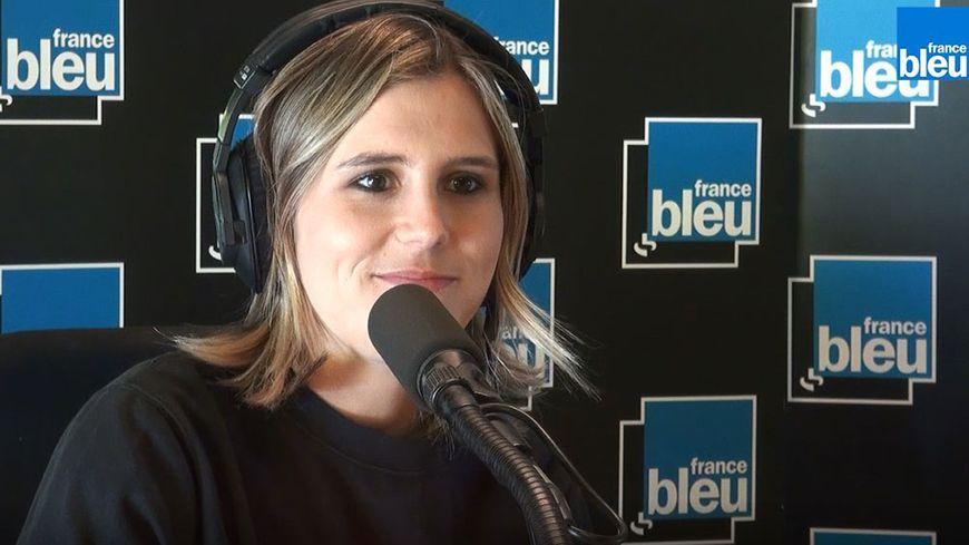 Margot Dumont invitée de Stade Bleu