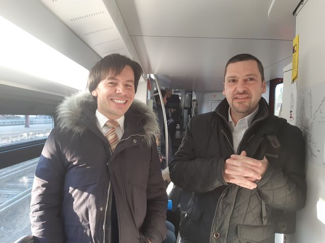 Laurent et Patrick, travailleurs frontaliers
