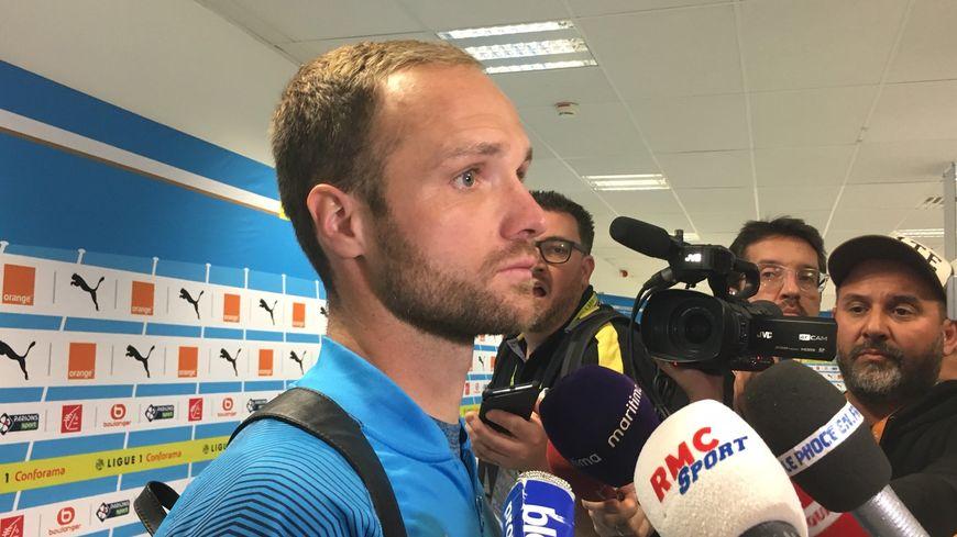 """Valère Germain comme """"groggy"""" après le nul 2-2 de l'OM face à Angers"""