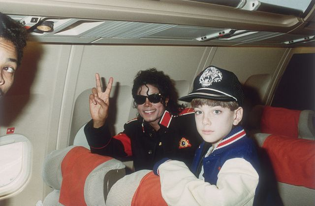 Michael Jackson et James Safechuck en 1988