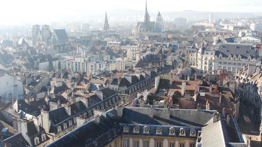 Vue de Dijon (illustration)