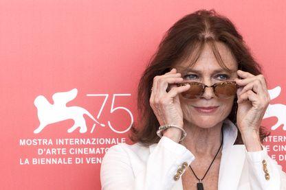 Jacqueline Bisset à la Mostra de Venise en 2018