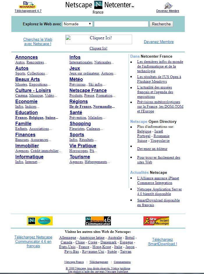 Netscape amour et rencontres