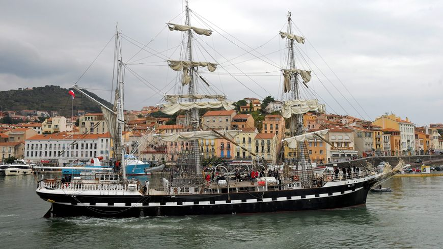 Le Belem à Port Vendres