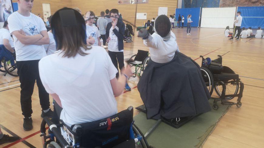 A Reims, une journée pour promouvoir le sport et le handicap