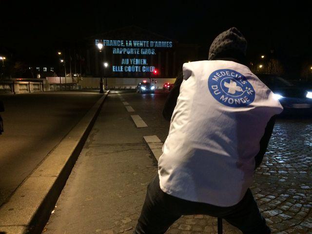Médecin du Monde, Oxfam France, Care France et ACF ont mené conjointement l'opération