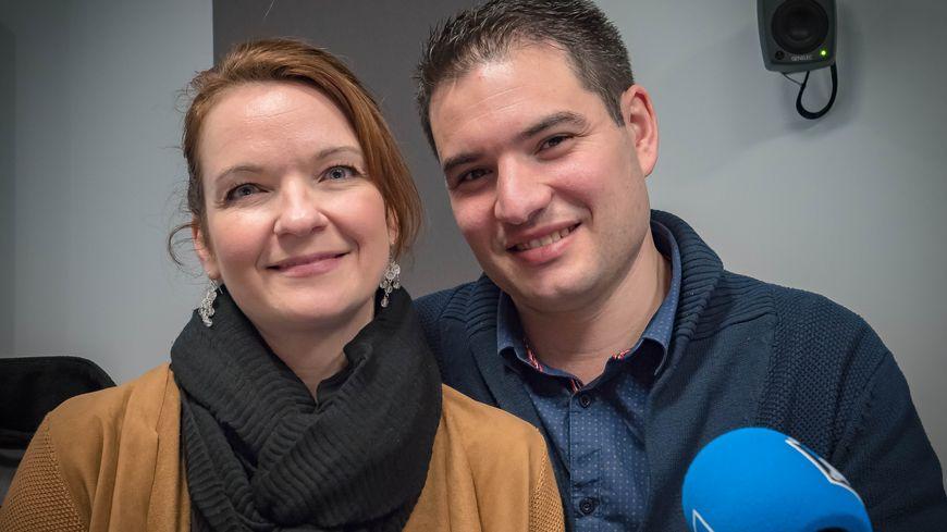 Hélène et Nicolas Fauroux-Dingli