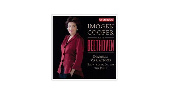 Imogen Cooper interprète des oeuvres de Ludwig van Beethoven CHANDOS