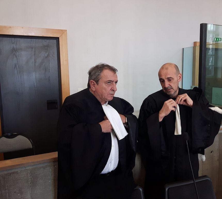 Patrick Maisonneuve et Jean-François Canis avocats de l'accusé