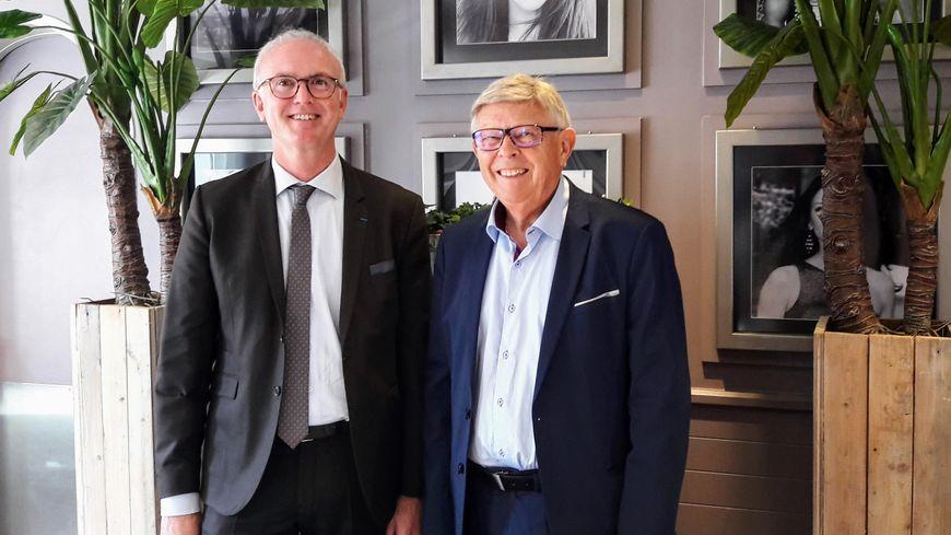 Le maire Michel Blondeau a présenté lui-même, Marc Fleuret, comme son successeur à la tête de la majorité sortante lors des Municipales 2020 à Déols
