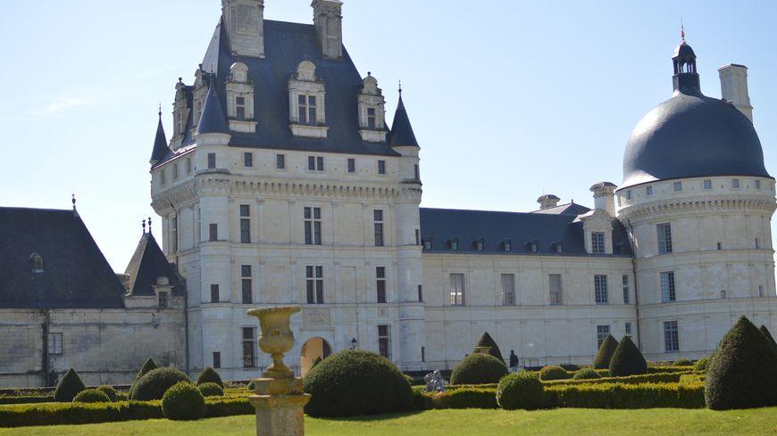 Le printemps est arrivé au château de Valençay.