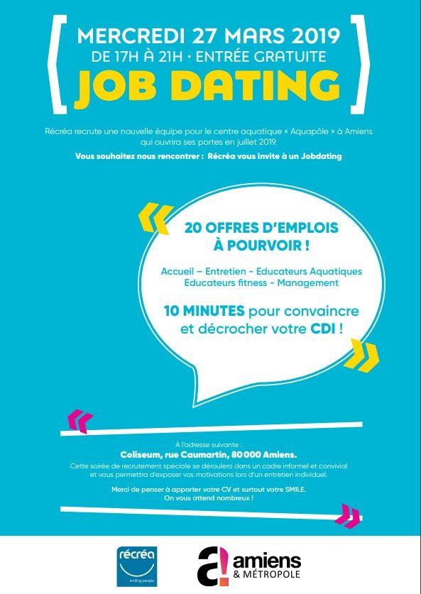 """Les personnes retenues à l'issue de ce """"job dating"""" seront convoqués sous 15 jours pour un entretien plus long en présence du directeur de l'Aquapole."""