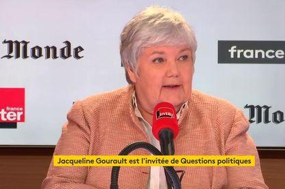 Jacqueline Gourault est l'invitée de Questions Politiques