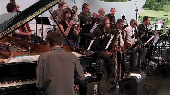 Le Medium Ensemble au Paris Jazz Festival en 2013