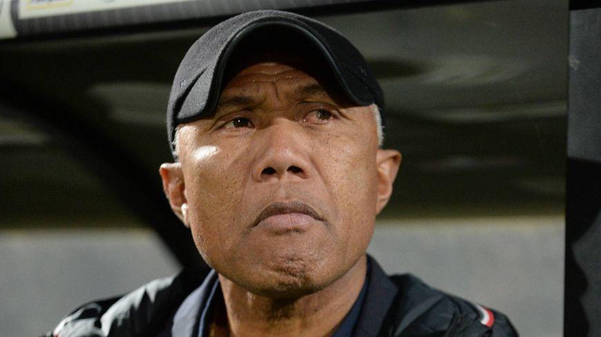 L'entraîneur Antoine Kombouaré