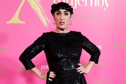 Rossy de Palma, actrice espagnole, au Casino de Madrid le 30 janvier 2019