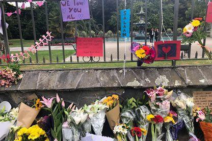 Attentat islamophobe de Christchurch. Reportage photo de notre envoyée spéciale à Christchurch en Nouvelle Zélande, 16 mars 2019. Memorial.