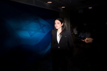 La ministre de la Justice israélienne Ayelet Shaked est candidate aux élections législatives du 9 avril (27 janvier 2019)