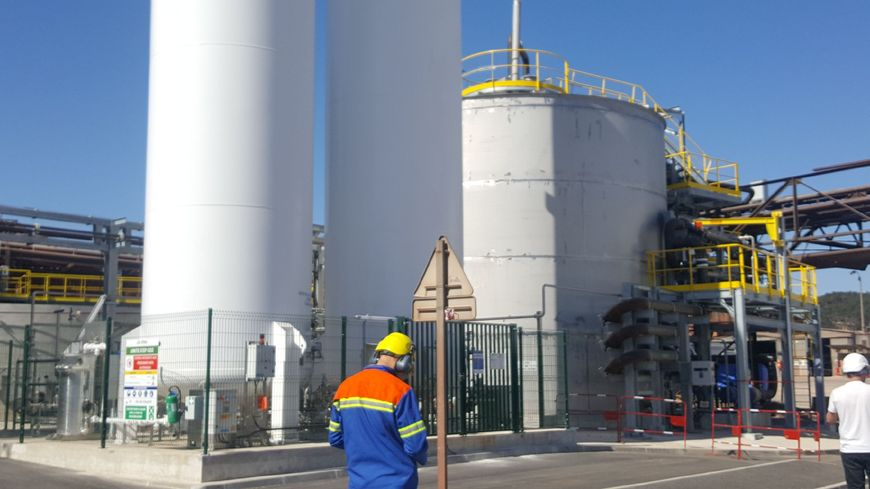 la nouvelle usine de traitement des eaux d'altéo