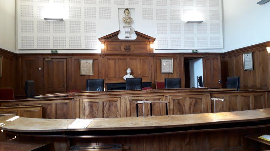 La salle d'audience du tribunal de Bourgoin Jallieu