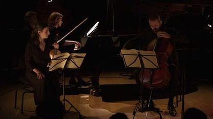 Schubert : Trio en mi bémol Majeur op. 100 D 929 II. Andante con moto