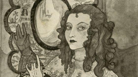 Mary 'Moll' Davis. Illustration : Kitty Shannon, 1926