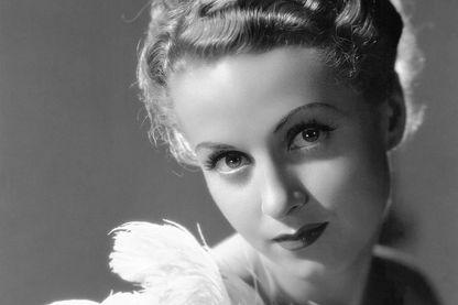 Danielle Darrieux dans le film La Coqueluche de Paris en 1938