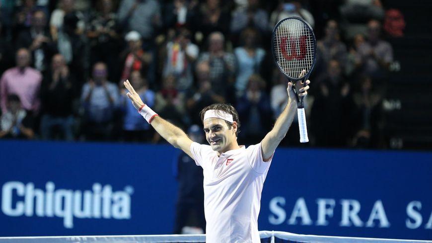 Roger Federer a déjà remporté neuf fois les Swiss Indoors à Bâle.