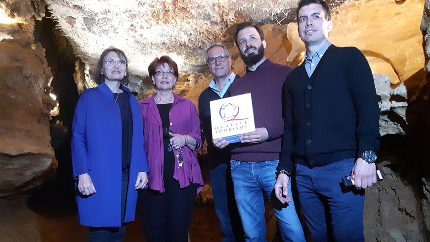 Les grottes de Maxange décrochent le label Qualité Tourisme