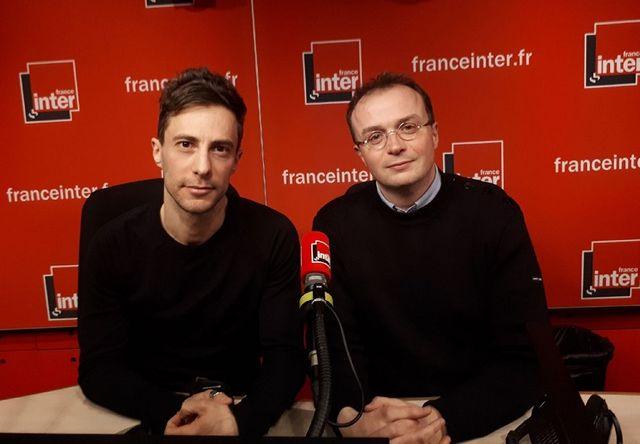 Cédric AUSSIR (le réalisateur, à gauche) et François PERACHE, le scénariste