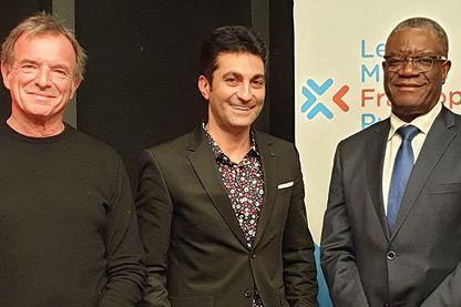 Guy-Bernard Cadière, Emmanuel Khérad et  Denis Mukwege