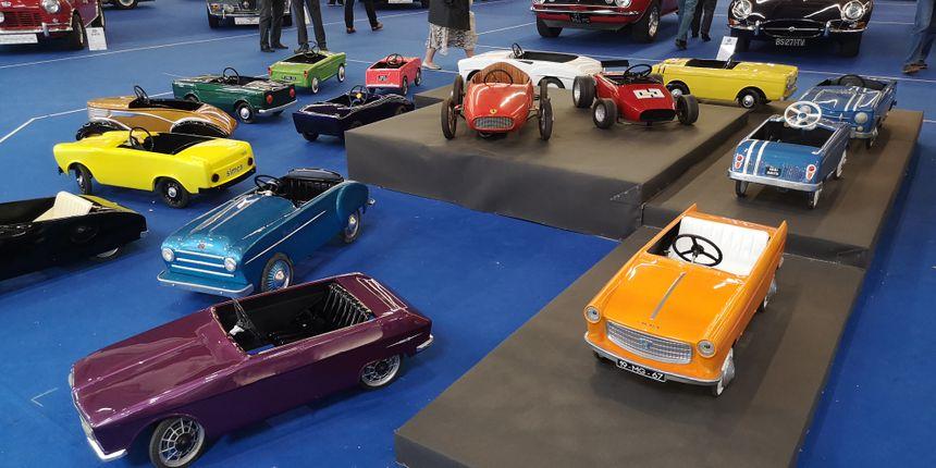 Les voitures à pédales du collectionneur Olivier Bertot