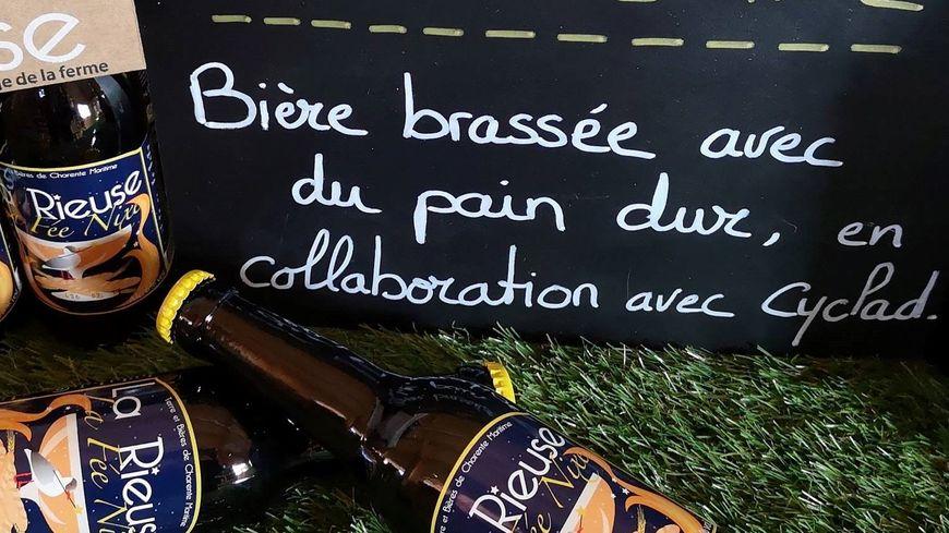 """A l'image de la bière """"fée Nixe"""", tous les produits sont faits avec des aliments ou outils réutilisés"""