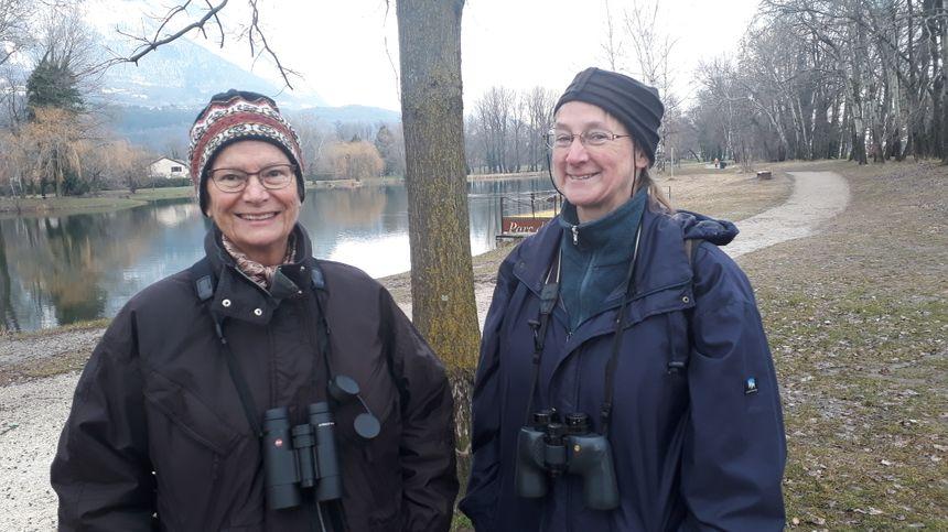 Danièle et Catherine de la LPO