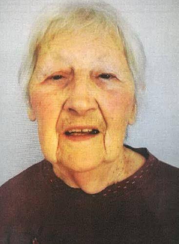 Les gendarmes diffusent la photo de la retraitée pour la retrouver.