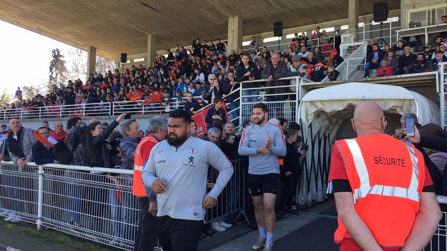 Les joueurs se sont entraînés au stade Balussou, à Pamiers.