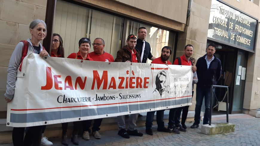 Un sursis d'une semaine vient d'être accordé à l'entreprise Jean Mazière, placée en redressement judiciaire