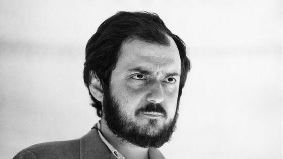 Le réalisateur Stanley Kubrick sur le tournage du film « 2001, l'Odyssée de l'Espace »