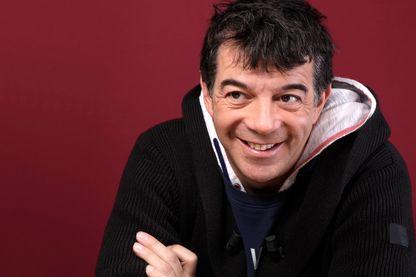 Portrait de Stéphane Plaza, animateur de radio, de télévision, agent immobilier et acteur à Paris, le 12/07/2017.