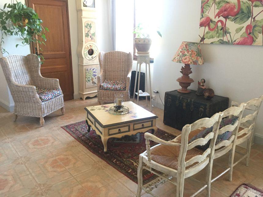 Dans la chambre d'hôte de La Guérinière à Cénac et Saint Julien en Dordogne