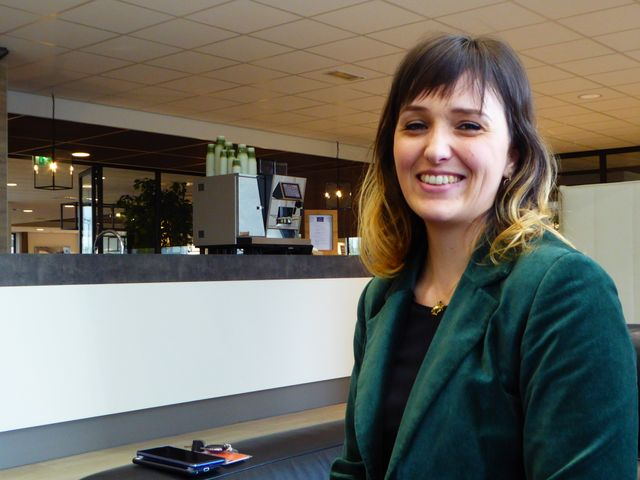 Laura Giordano, juriste depuis 3 ans chez Orange Business Service