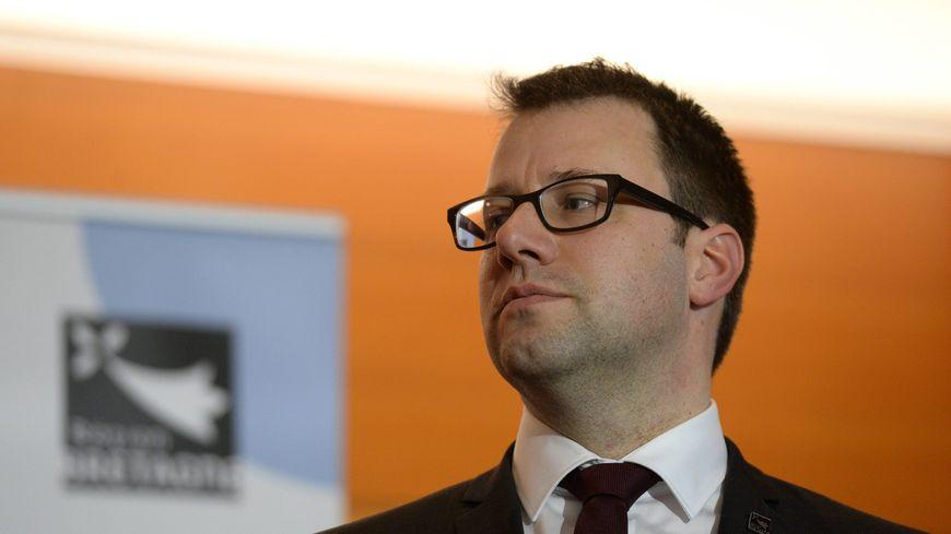 Le président de la région Bretagne, Loïg Chesnais-Girard.